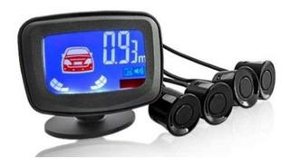 Sensor De Retroceso Aparcamiento Con Pantalla Lcd 4 Sensore