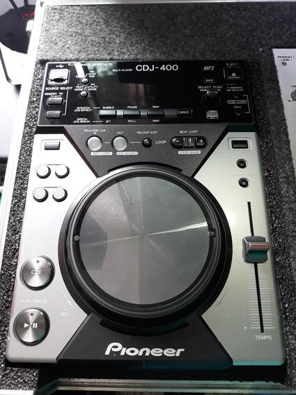 Par De Cdj-400 + Mixer Gemini Ps-04 No Case Com Garantia
