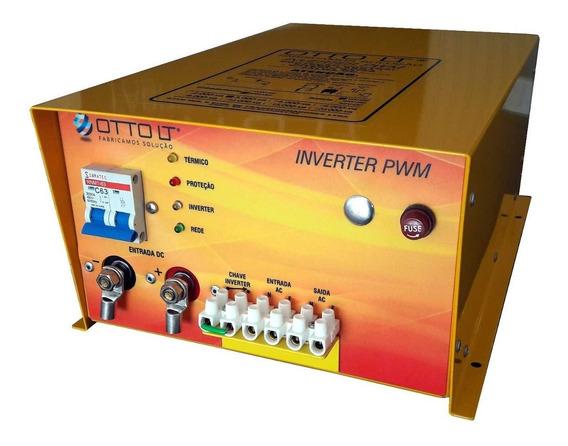 Inversor Solar 3000va De 12v Para 220v - 1 Ano De Garantia