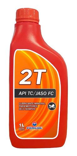 Imagen 1 de 7 de Aceite Fercol 2 Tiempos X 1 Litro Motosierra Desmalezadora