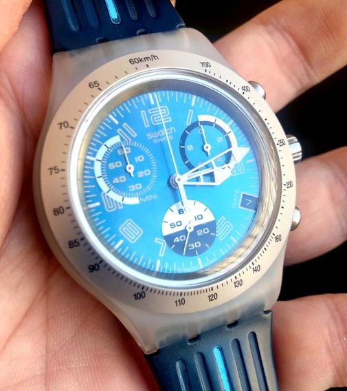 Relógio Swatch Irony Chrono Svck4028 Ag 2004 - Perfeito