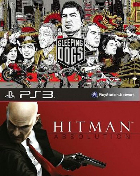 Hitman Absolution + Sleeping Dogs Midia Digital 2 Jogos