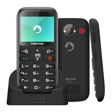 Celular P65 - Preto