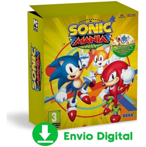 Sonic Mania Plus Pc Aventura Completa Envio Agora 2019