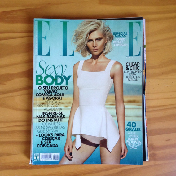 Revista Elle 304 Set2013 Esp. Corpo Cazuza E Minas Gerais Tx