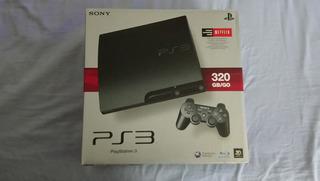 Playstation 3 Slim Hd 320gb Americano Semi-novo Completo