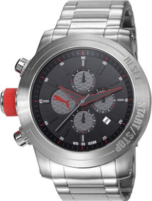 Relógio Masculino Puma Cronógrafo 96241g0pmna1 Prata