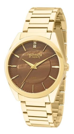Relógio Technos St Moritz Elegance Feminino 2036lou/4m