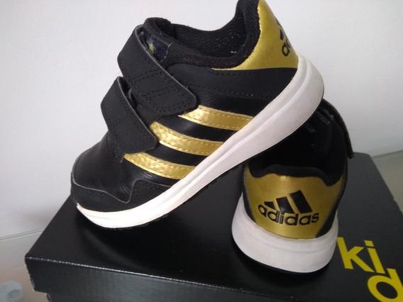 Tênis adidas Snice 4 Training Preto Com Dourado Tamanho 23