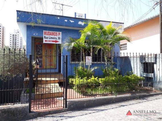 Terreno À Venda, 230 M² Por R$ 750.000 - Baeta Neves - São Bernardo Do Campo/sp - Te0105