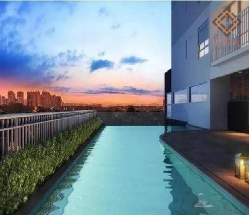 Apartamento Com 1 Dormitório À Venda, 36 M² Por R$ 570.000,00 - Perdizes - São Paulo/sp - Ap39923