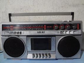 Rádio Gravador Akai Aj 458 - Ler Descrição !!!