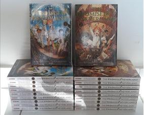Mangá The Promised Neverland 1 E 2 Lacrados (90 R$ À Vista)