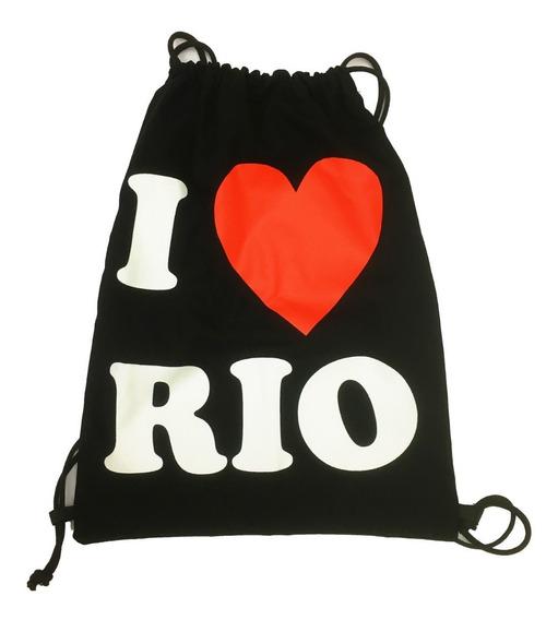 Mochila Sacola Lembrança Rio De Janeiro