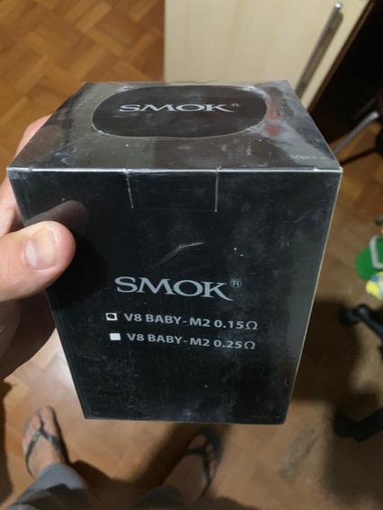 50x Coil M2 0.15ohms V8 E Tfv8 Smok - Preço Para Revendedor