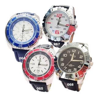 Reloj Hombre Ornet Analogo Cuero Y Metal Wr30m Sporty