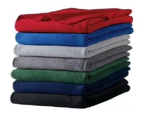 Cobija Fleece Económica Todos Los Colores 1.20x1.80