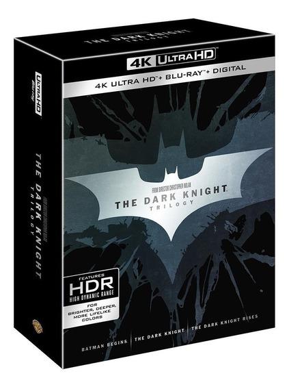 Batman The Dark Knight Trilogia 4k Ultra Hd + Blu-ray Boxset