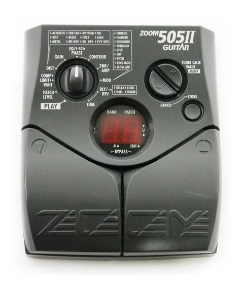 Pedaleira Zoom 505 Il 2 Para Guitarra C/ Fonte Cod 004