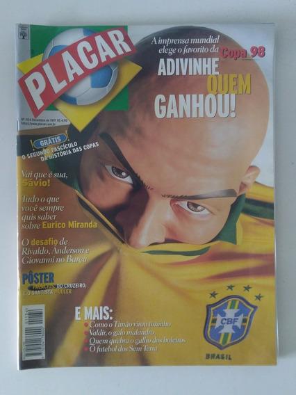 Revista Veja Minha Coleção Placar - Esporte Futebol