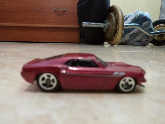 Mustang 69 Escala Hotwheels 1/64