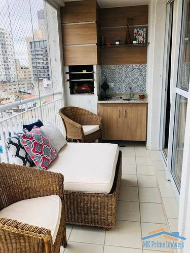 Imagem 1 de 15 de Lindo Apartamento Com 97m² No Centro De Osasco! - 988