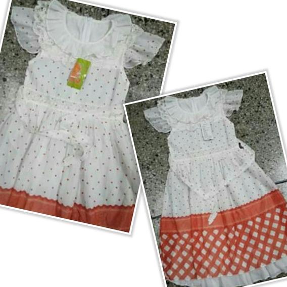 Vestido Casual Para Niña Nuevos Talla 08 (3$)