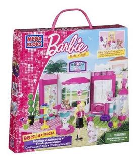 Tienda De Mascotas Mega Bloks Barbie