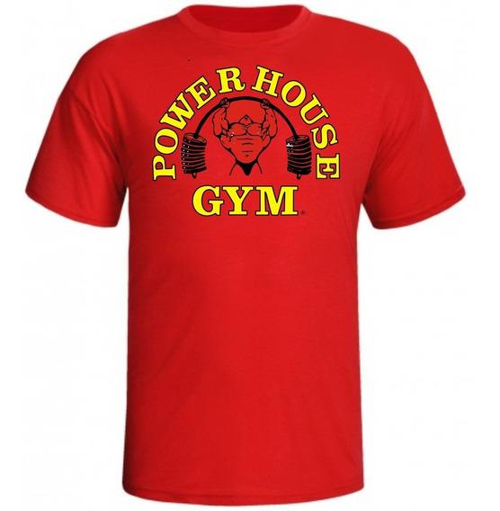 Camisa De Musculação Power House Gym