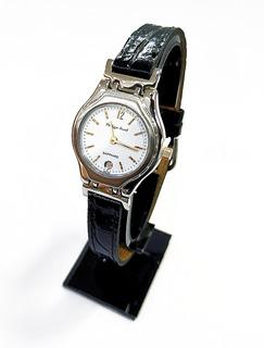 Reloj Extraplano Zafirado Mujer Philippe Amiel 6239c Cuero