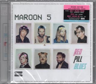 Maroon 5 Red Pill Blues 2 Cds 2017 - Los Chiquibum