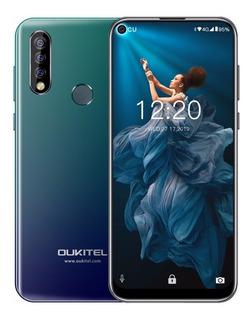 Celular Oukitel C17 Pro, Três Câmeras, 4g Ram E 64g Mémoria.
