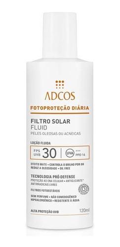 Adcos Professional Filtro Solar Fps30 Fluid 120ml