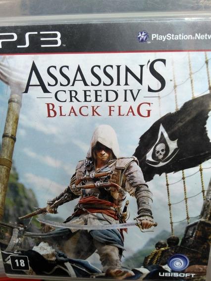 Assassins Creed Black Flag Ps3 Original , Mídia Física