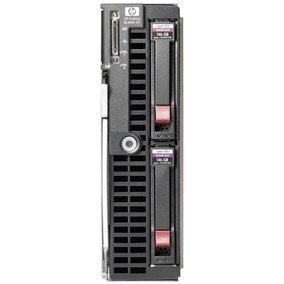 Hp Blade Server Bl460c, 2xslans E5440 2.83ghz, 16gb Ram