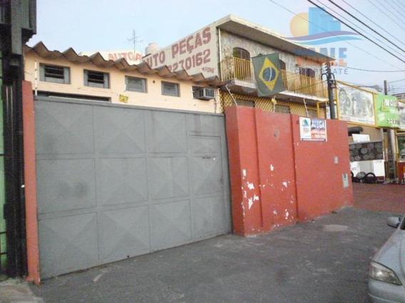 Barracão Comercial Para Locação, Jardim Novo Campos Elíseos, Campinas. - Ba0039