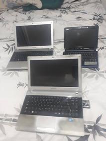 03 Notebooks - 2 Samsung E 1 Acer
