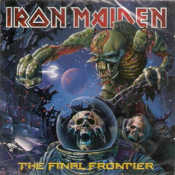 Cd Iron Maiden - The Final Frontier - Novo Lacrado***