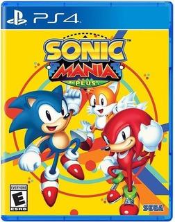 Sonic Mania Plus Ps4 Nuevo Sellado Delivery Stock Ya