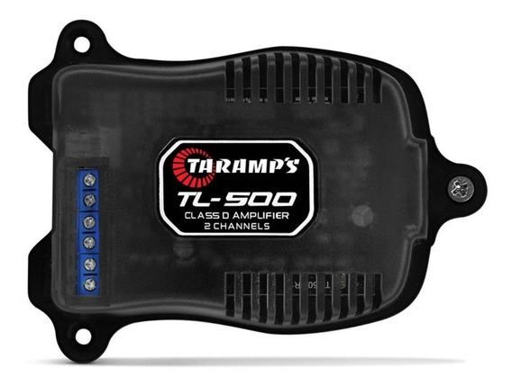 Módulo Taramps Tl 500 2 Canais 2 Ohm Amplificador Som Tl500
