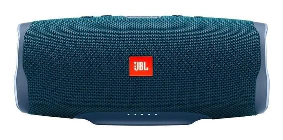 Bocina JBL Charge 4 portátil inalámbrica Blue
