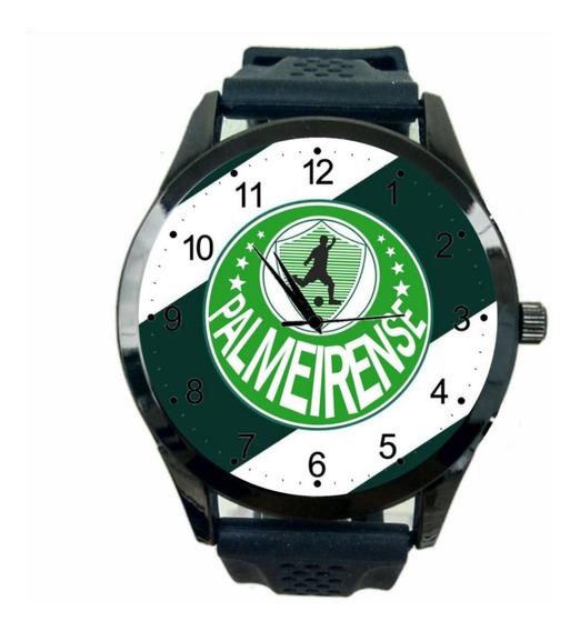 Palmeirense Relogio Personalizado Masculino Escudo Time T358