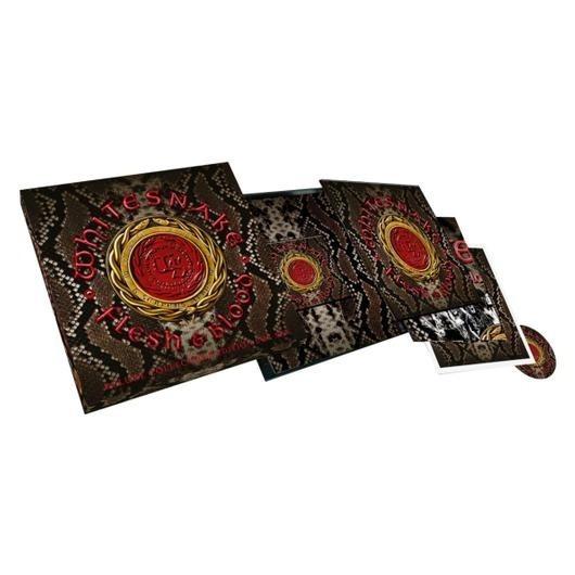 Whitesnake Flesh And Blood Box Deluxe Cd Dvd Vinilo Stock