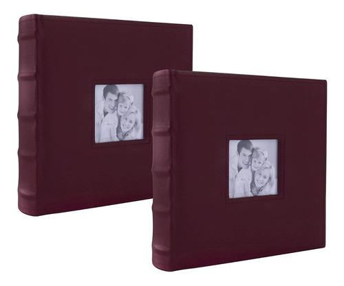 Álbum Fotográfico Para 400 Fotos Set Paquete 2 Piezas