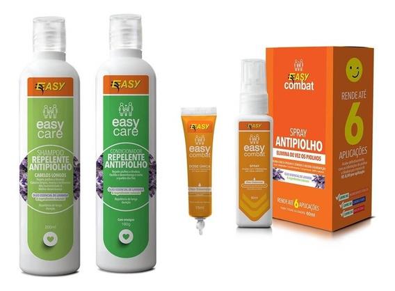 Easy Care Shampoo Condicionador Repelente Antipiolho Lêndeas
