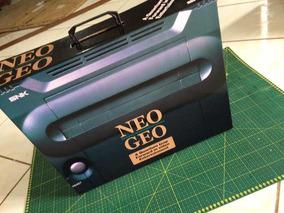 Neo Geo + Berço (somente Caixa Para Reposição)