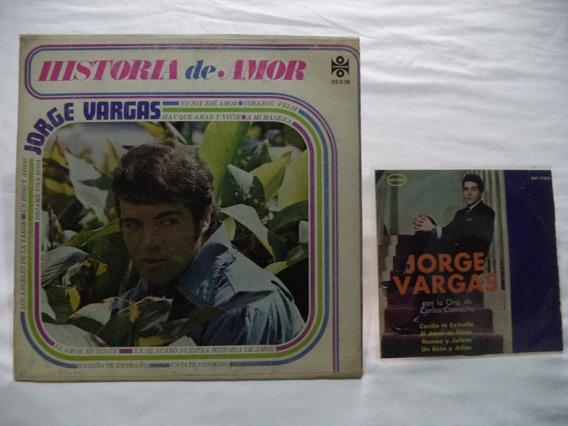 Jorge Vargas Historia De Amor 1971 Lp Y Ep D 45 D Coleccion