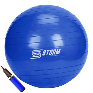 Bola Suiça Premium - 65cm - Pilates Yoga - Anti Estouro