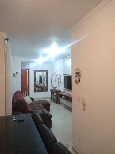 Imagem 1 de 15 de Apartamento Com 2 Dormitórios Para Alugar, 45 M² Por R$ 1.500,00/mês - Vila Alzira - Santo André/sp - Ap10453