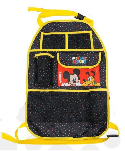 Bolso Organizador Porta Tablet Libro Botella Disney Mickey